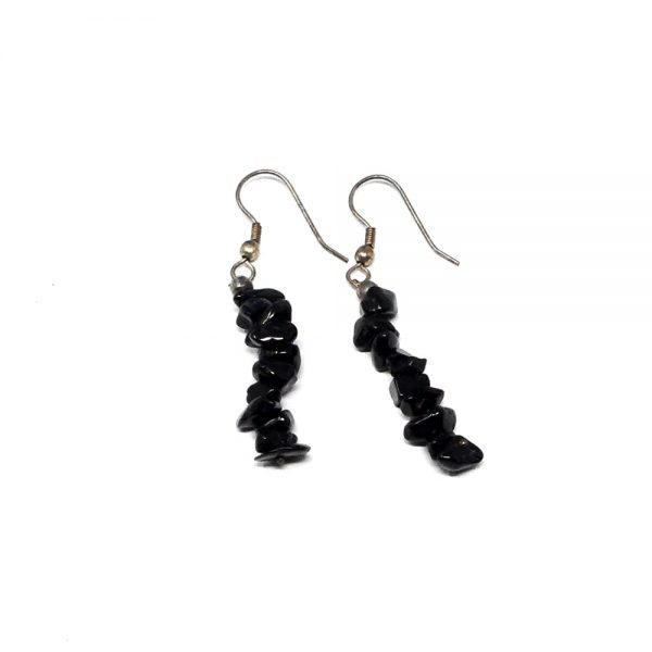 Black Tourmaline Earrings All Crystal Jewelry black tourmaline