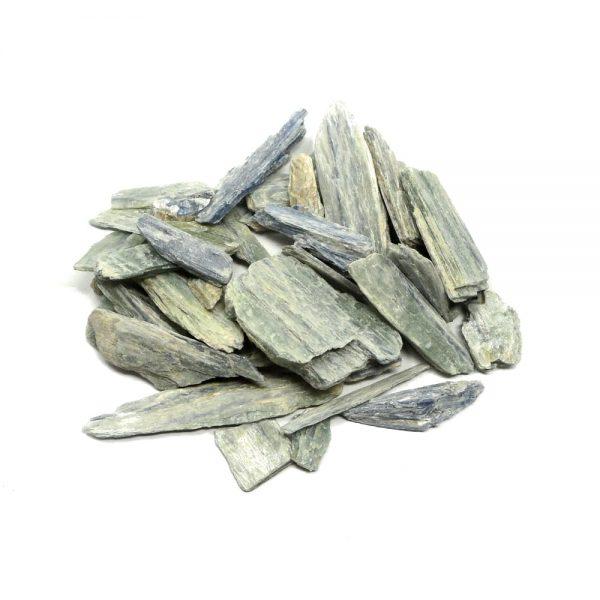 Blue Green Kyanite Blades 16oz All Raw Crystals blue green kyanite
