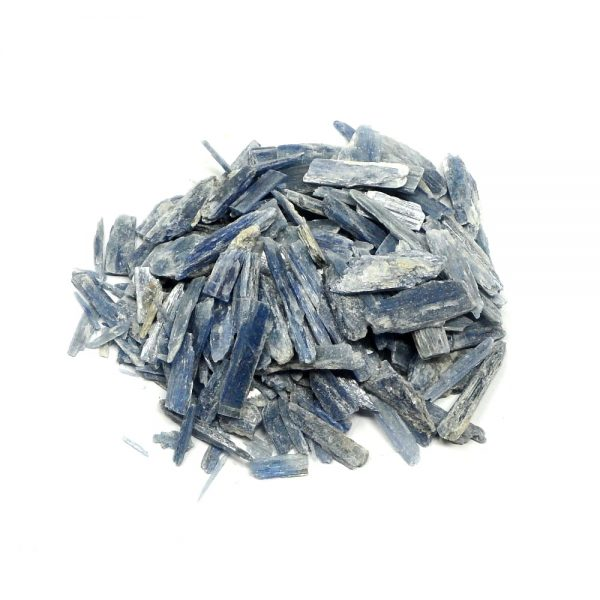 Blue Kyanite Blades 8oz All Raw Crystals blue kyanite