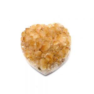 Citrine Druzy Heart All Polished Crystals Citrine