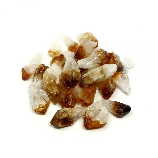 Citrine Points sm 8oz All Raw Crystals bulk citrine