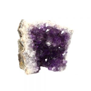 Amethyst Cluster with Cut Base All Raw Crystals amethyst
