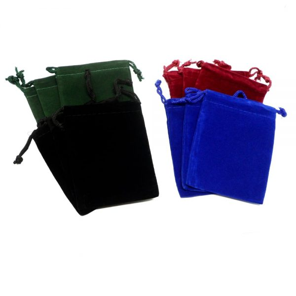 Mix Pouch Medium 12 pack Accessories bulk crystal pouches