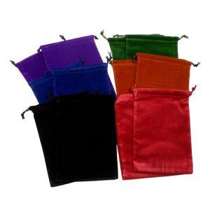 Pouches lg Pack of 12 All Accessories bulk crystal pouches