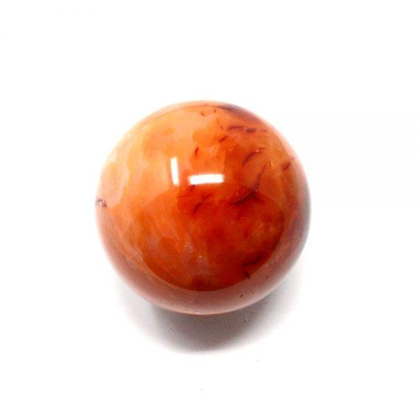 Carnelian Sphere 63mm All Polished Crystals carnelian
