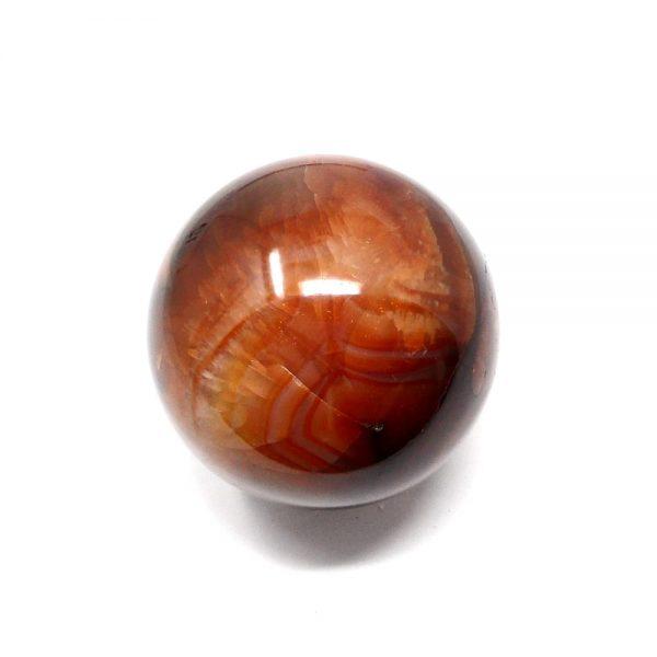 Carnelian Sphere 65mm All Polished Crystals carnelian