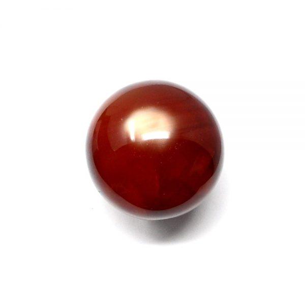 Carnelian Sphere 45mm All Polished Crystals carnelian