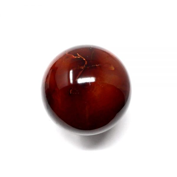 Carnelian Sphere 50mm All Polished Crystals carnelian