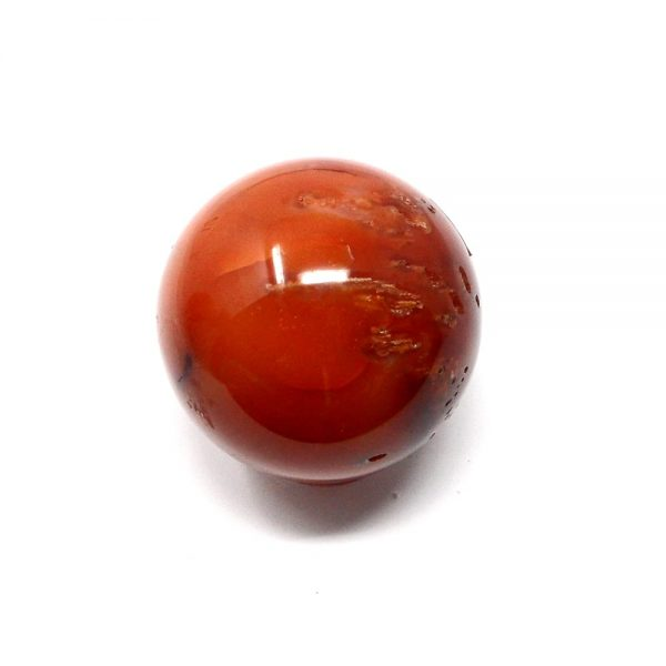 Carnelian Sphere 55mm All Polished Crystals carnelian