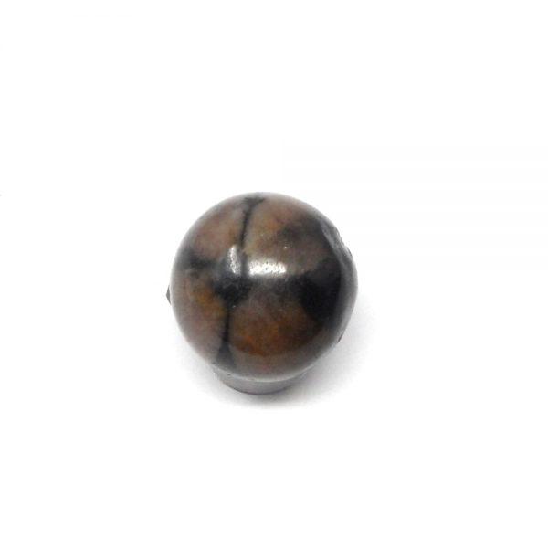 Chiastolite Sphere 20 to 25mm All Polished Crystals chiastolite