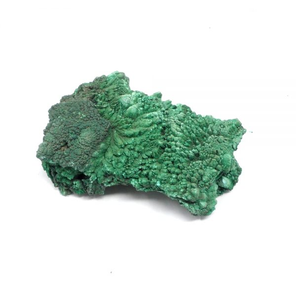 Fibrous Malachite Cluster All Raw Crystals crystal cluster