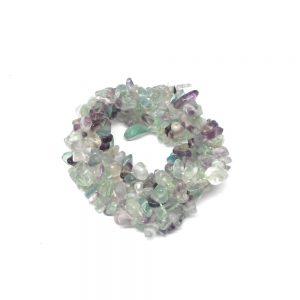 Fluorite 5-Strand Chip Bracelet All Crystal Jewelry bracelet