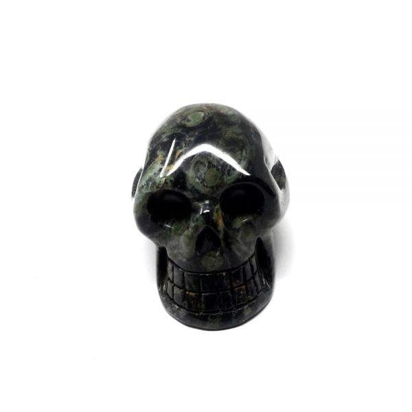 Kambaba Jasper Skull All Polished Crystals crocodile jasper
