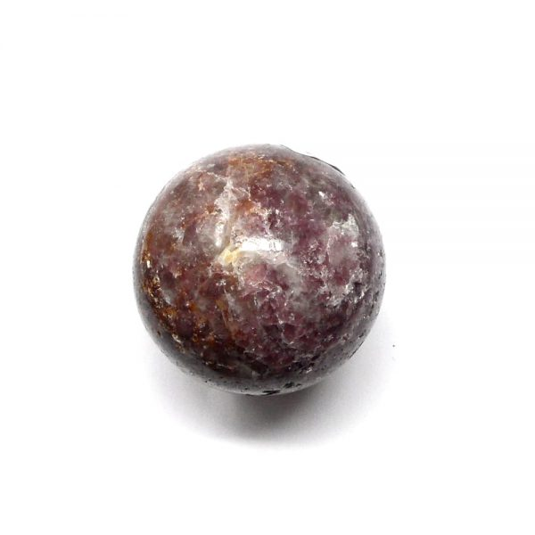 Lepidolite Sphere 45mm All Polished Crystals crystal sphere