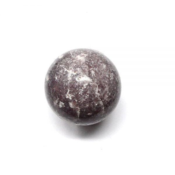 Lepidolite Sphere 40mm All Polished Crystals crystal sphere