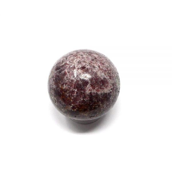 Lepidolite Sphere 48mm All Polished Crystals crystal sphere