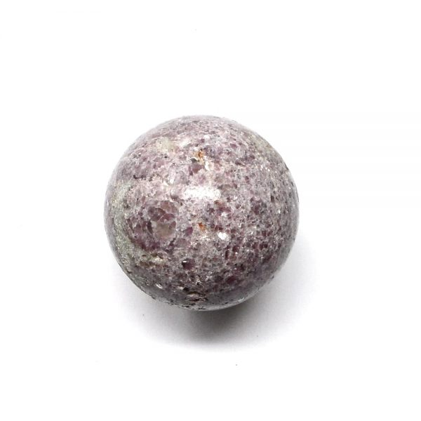 Lepidolite Sphere 45mm All Polished Crystals crystal sphere