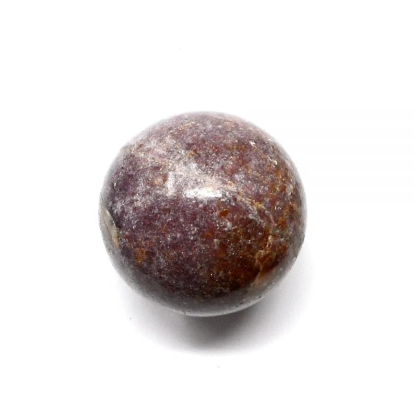 Lepidolite Sphere 50mm All Polished Crystals brazilian crystal