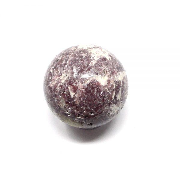 Lepidolite Sphere 52mm All Polished Crystals crystal sphere