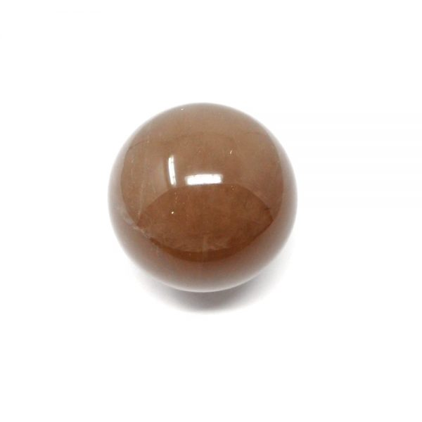 Rutilated Quartz Sphere 43mm All Polished Crystals brazilian crystal sphere