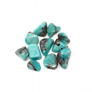 Amazonite md/lg tumbled 4oz All Tumbled Stones amazonite