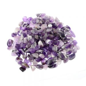 Banded Amethyst sm tumbled 16oz All Tumbled Stones amethyst