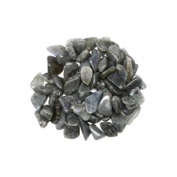Labradorite tumbled sm 8oz All Tumbled Stones bulk labradorite