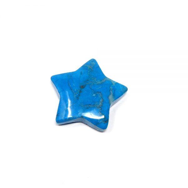 Blue Howlite Star All Specialty Items blue crystal star