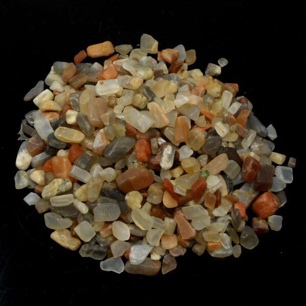 Moonstone xs tumbled 8oz All Tumbled Stones bulk moonstone
