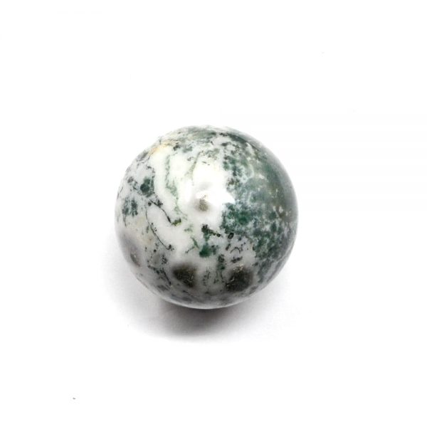 Tree Agate Sphere 50mm All Polished Crystals agate