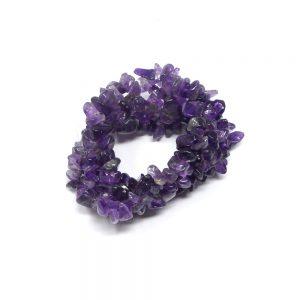 Amethyst Five Strand Chip Bracelet All Crystal Jewelry amethsyt bracelet
