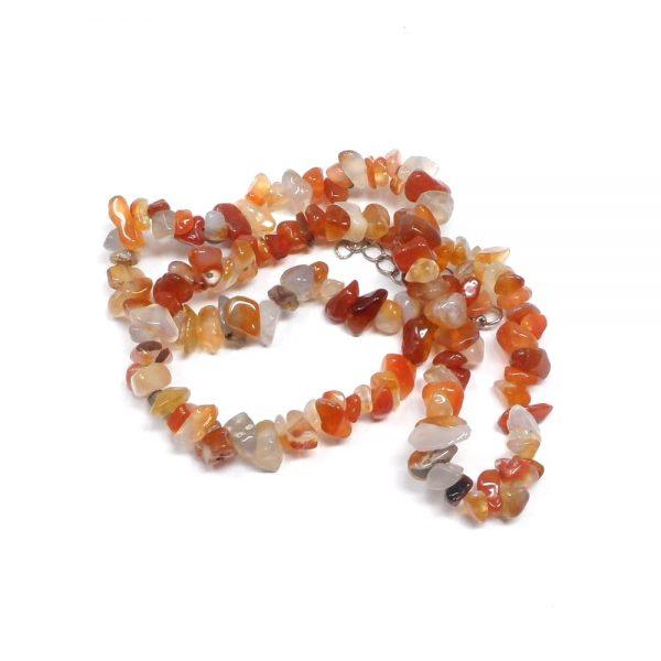 Carnelian Chip Choker All Crystal Jewelry agate choker