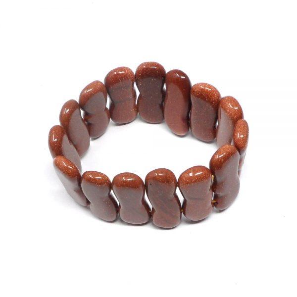 Goldstone Peanut Bracelet All Crystal Jewelry bracelet