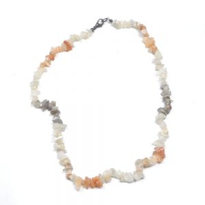 Moonstone Chip Choker Crystal Jewelry chip beads