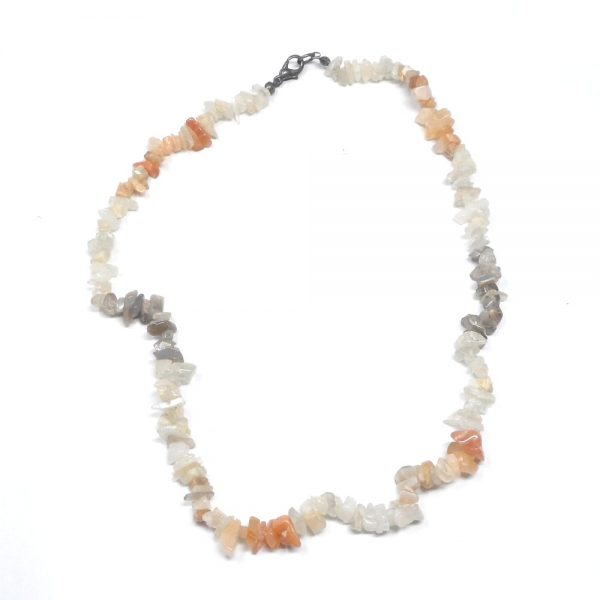 Moonstone Chip Choker All Crystal Jewelry chip beads