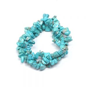 Turquenite Three Strand Chip Bracelet All Crystal Jewelry bracelet