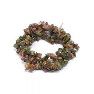 Unakite Three Strand Chip Bracelet All Crystal Jewelry bracelet