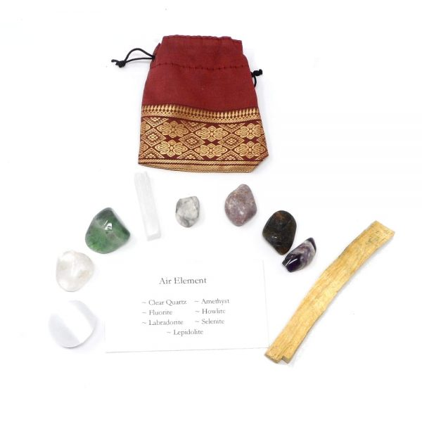 Crystal Kit ~ Air Element All Specialty Items air crystal kit