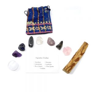 Crystal Kit ~ Aquarius Zodiac All Specialty Items aquarius crystal kit