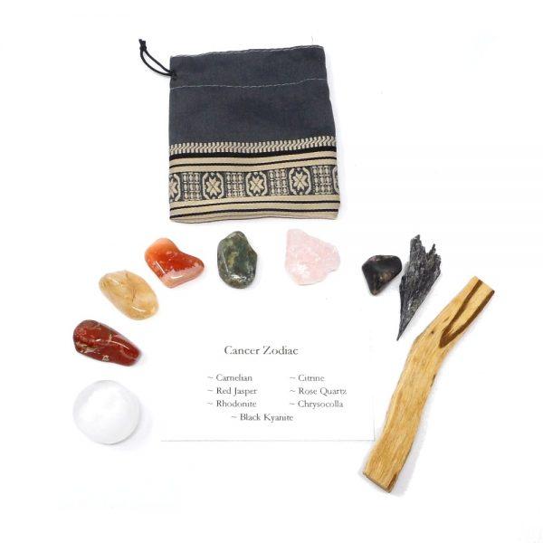 Crystal Kit ~ Cancer Zodiac All Specialty Items cancer crystal kit