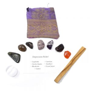 Crystal Kit ~ Depression Relief All Specialty Items crystal kit