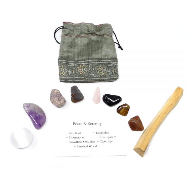 Crystal Kit ~ Peace & Serenity All Specialty Items calming crystals