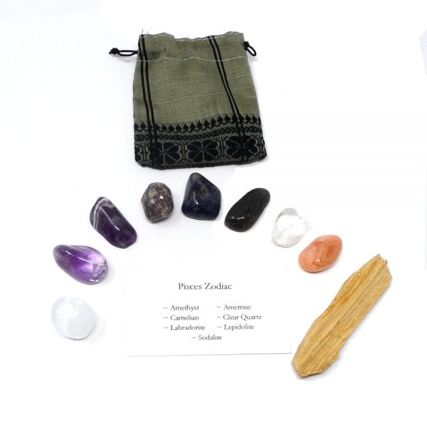 Crystal Kit ~ Pisces Zodiac All Specialty Items crystal kit