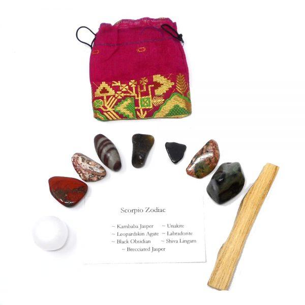 Crystal Kit ~ Scorpio Zodiac All Specialty Items crystal kit