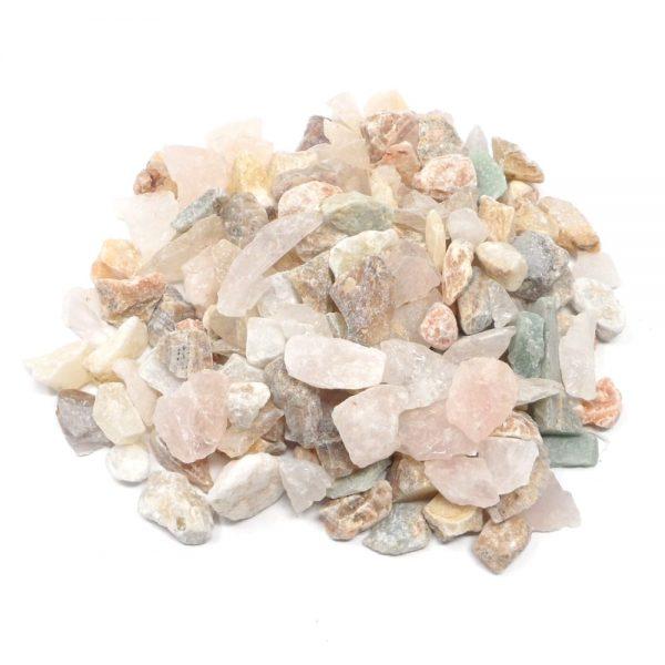 Raw Mixed Stones mixed size 16oz All Raw Crystals bulk crystals