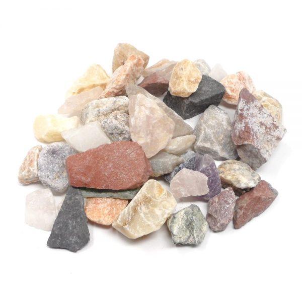 Raw Mixed Stones lg 16oz All Raw Crystals bulk crystals
