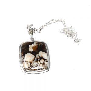 Petrified Peanut Wood Necklace All Crystal Jewelry petrified peanut wood