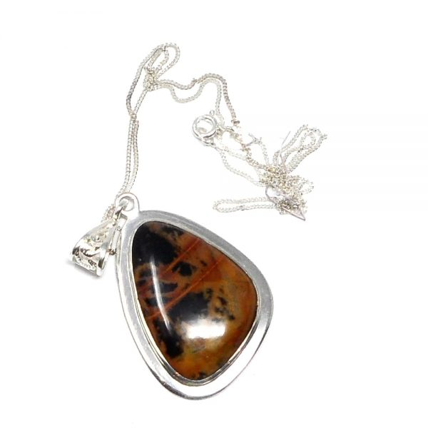 Pilbara Picasso Jasper Necklace All Crystal Jewelry crystal necklace