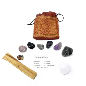 Crystal Kit ~ Anxiety & Stress All Specialty Items anxiety crystals