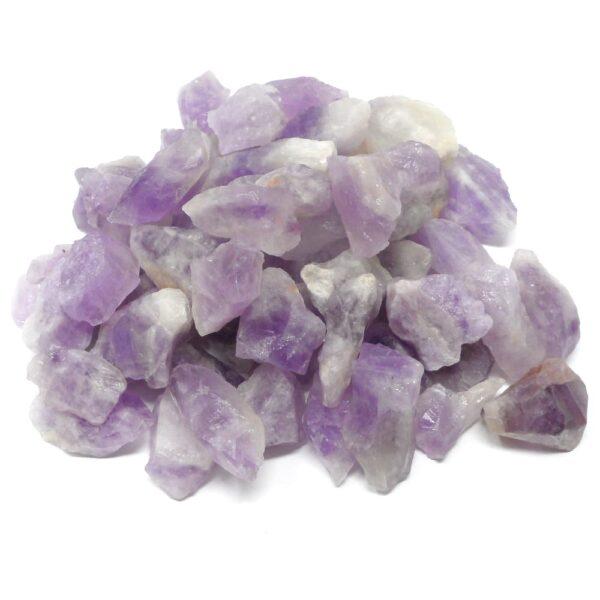 Amethyst Pieces raw sm 16oz All Raw Crystals amethyst